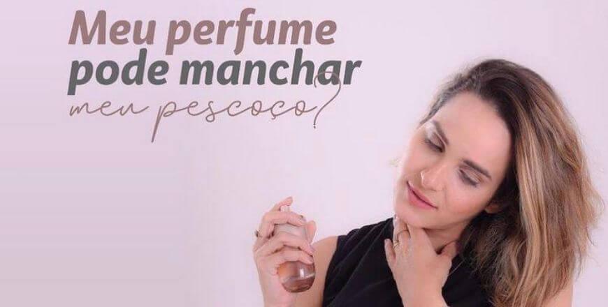 Meu Perfume pode Manchar meu Pescoço?
